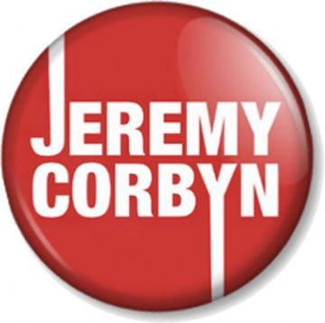 Jeremy Corbyn Pinback Button Badge Labour Party Leader Election Politics Politician The Opposition